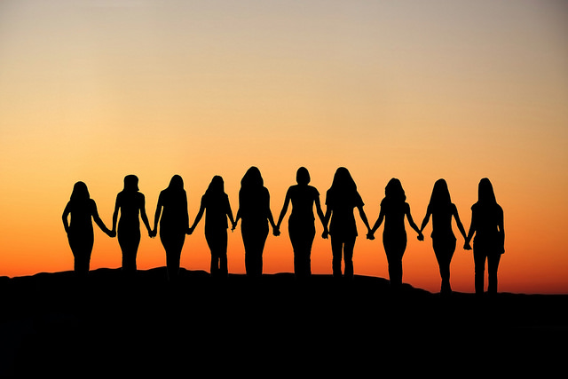 "​CC Image ""Sunset United Women's Rights,"" by John Voo (2015)​ on Flickr."